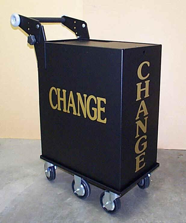 Casino Change Cart